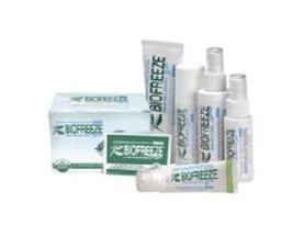 BioFreeze and Sombra are two different types of topical analgesics we carry.